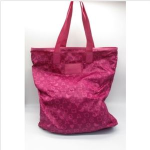 Marc by Marc Jacobs hot pink monogram Eazy tote